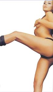 Nina Moric in lingerie - ass