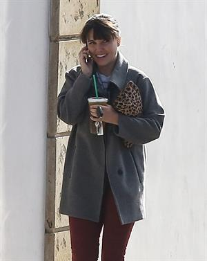 Sophia Bush at Starbucks in Beverly Hills 12/27/12
