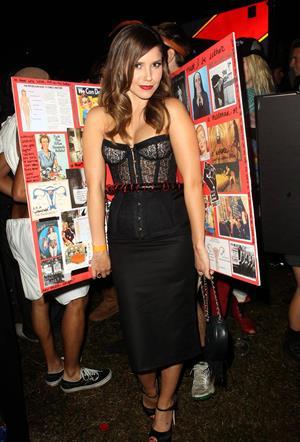 Sophia Bush 8th annual Maroon 5 Halloween Party in Hollywood - October 31, 2012