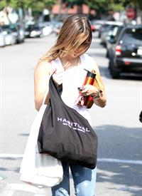 Sophia Bush - Leaving the nail salon in Beverly Hills - August 17, 2012