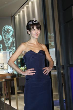 Sophie Marceau Chaument Store Opening in Shanghai November 29, 2012