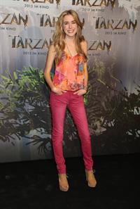 Spencer Locke -  Tarzan 3D  film photocall in Munich (June 5, 2012)