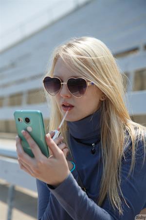 Lily Rader Blonde Cutie