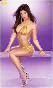 Erika Medina in a bikini