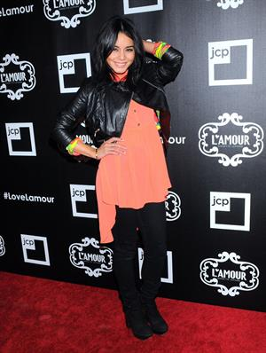 Vanessa Hudgens L'Amour by Nanette Lepore JCPenney launch party NY 1/24/13