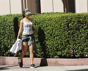 Vanessa Hudgens - leaving dance class in Studio City August 27, 2012