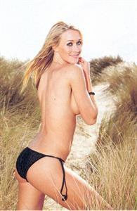 Kim Engelbosch in a bikini - ass