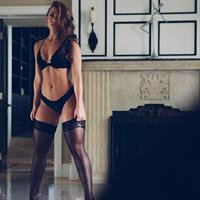 Nicole Mejia in lingerie