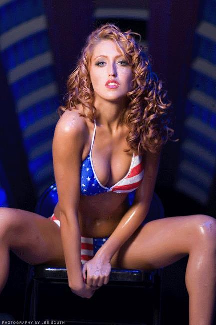SoCal Val in a bikini