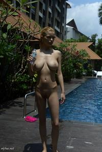 Julia Logacheva - pussy and nipples
