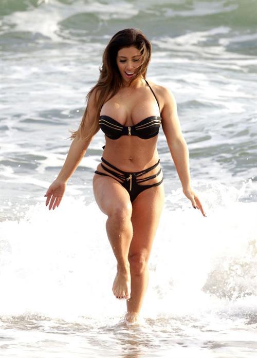 Carmen Ortega in a bikini