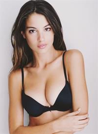 Katherine Henderson in lingerie
