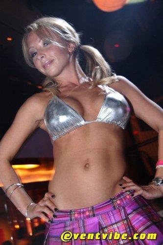 Emily Tisdale in a bikini