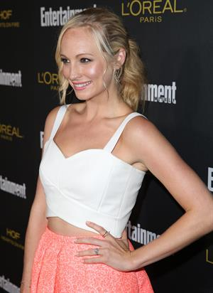 Candice Accola 2014 Entertainment Weekly pre-Emmy party August 23, 2014