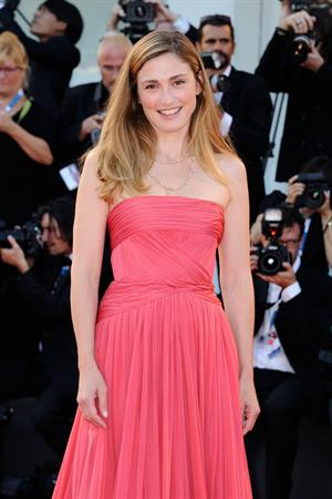 Julie Gayet at the Birdman premiere opening the 71st International Venice Film Festival August 27, 2014