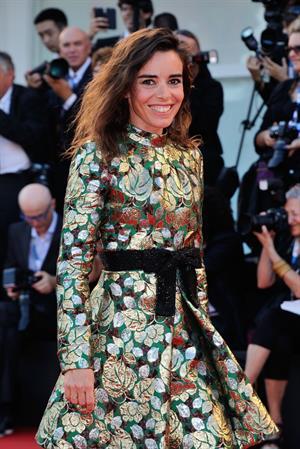 Elodie Bouchez at the Birdman premiere opening the 71st International Venice Film Festival August 27, 2014