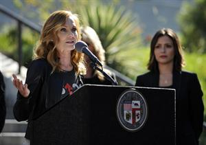 Marg Helgenberger @ news conference for Stand Up To Cancer Day in Los Angeles August 27, 2014
