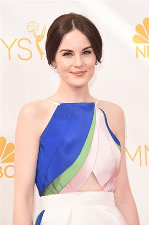 Michelle Dockery at the 66th annual Primetime Emmy Awards, August 25, 2014