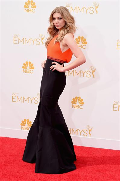 Natalie Dormer at the 66th annual Primetime Emmy Awards, August 25, 2014