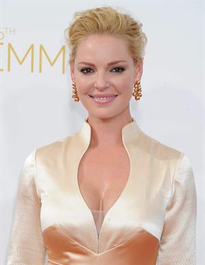 Katherine Heigl at the 66th annual Primetime Emmy Awards, August 25, 2014
