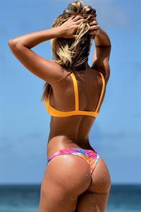 Stephanie Claire Smith in a bikini - ass