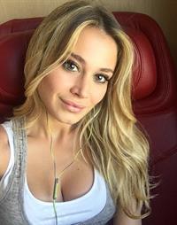 Diletta Leotta taking a selfie