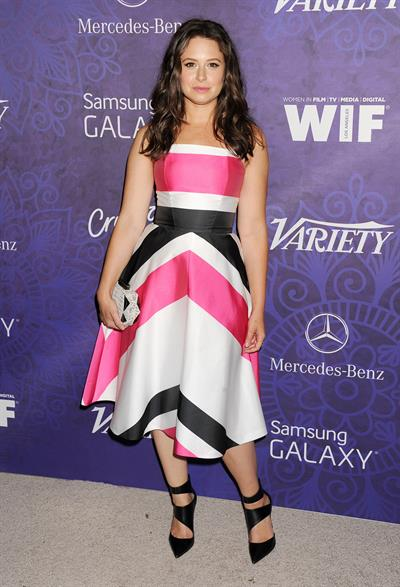 Katie Lowes Variety and Women in Film Emmy Nominee Celebration, LA August 23, 2014