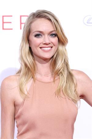 Lindsay Ellingson at The Giver premiere August 11, 2014