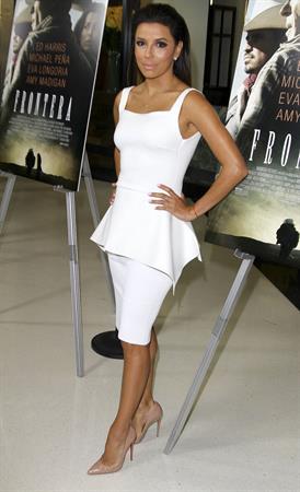 Eva Longoria at Frontera Los Angeles premiere August 21, 2014