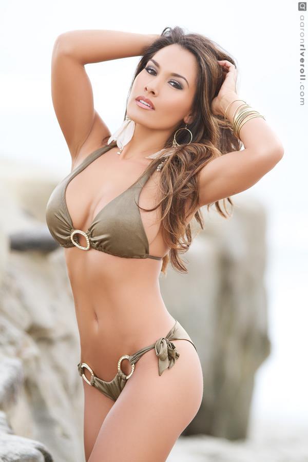 Desiree Niemann in a bikini