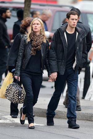 Nicky Hilton Walks with boyfriend James Rothschild in New York (November 12, 2012)
