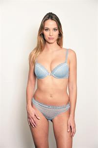 Agathe Teyssier in lingerie