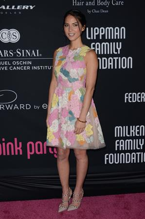 Olivia Munn 8th Annual Pink Party in Santa Monica 10/27/12