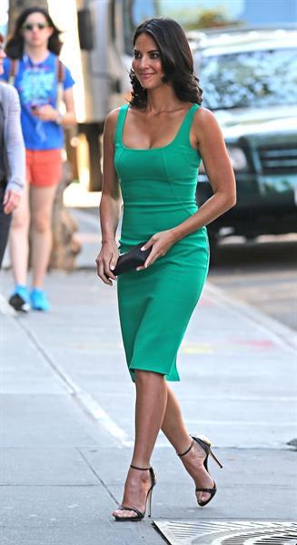 Olivia Munn - Arriving at The Bowery Hotel in New York - September 12, 2012