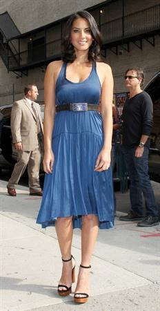 Olivia Munn - Late Show with David Letterman, NYC - August 20, 2012