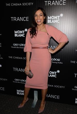 Rosario Dawson - 'Trance' NY Premiere 4/2/13