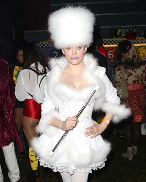 Rose Mc Gowan Attends the Patron O Cafe presents the 8th Annual Maroon 5 Halloween Party 31.10.12