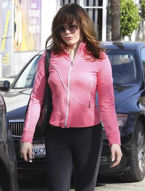 Rose McGowan Leaving the gym in Studio City 16.11.12