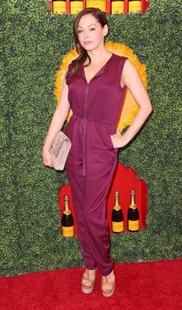 Rose McGowan 3rd Annual Veuve Clicquot Polo Classic in LA October 6, 2012