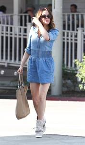 Rose McGowan 18Leaving the Salon Benjamin in West Hollywood 03.10.12