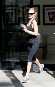 Rosie Huntington-Whiteley candids in LA 10/31/13