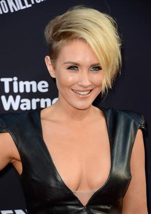 Nicky Whelan premiere of Sin City: A Dame To Kill For on August 19, 2014