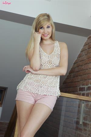 Blonde and Innocent.. featuring Holly Anderson   Twistys.com