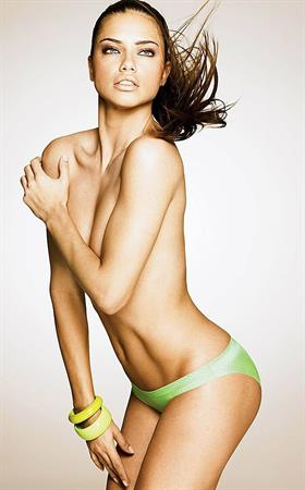 Adriana Lima Victorias secret catalogue October 2011