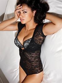 Adriana Lima Victorias Secret black and white Lingerie Photoshoot