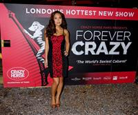 Myleene Klass Forever Crazy at the Crazy Horse in London