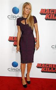 Paris Hilton Premiere of Open Road Films' 'Machete Kills' at Regal Cinemas LA October 2, 2013