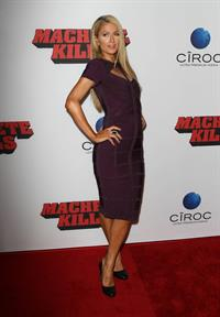 Paris Hilton Premiere of Open Road Films' 'Machete Kills' at Regal Cinemas LA October 2, 2013