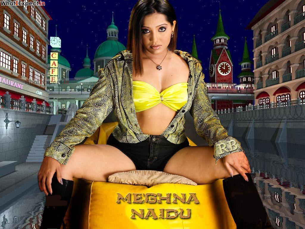 Meghna Naidu in lingerie