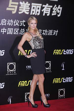 Paris Hilton - Miss Universe China Celebration Kerry Hotel in Shanghai Sept 1, 2012